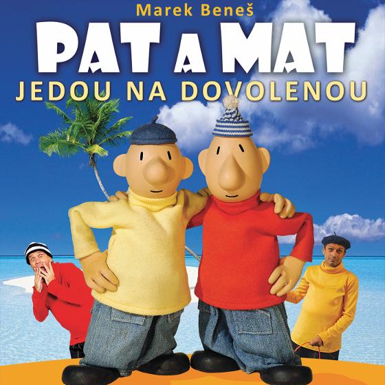 Pat a Mat jedou na dovolenou<BR>Divadlo pohádek