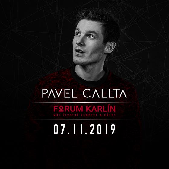 Pavel Callta<br>Můj životní koncert a křest<br>Standardní vstupenky