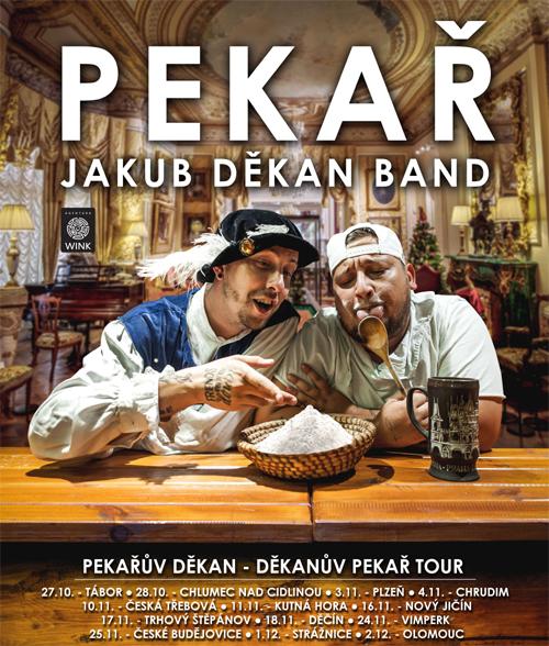 Pekař & Jakub Děkan band/Pekařův Děkan - Děkanův Pekař Tour/- koncert Plzeň -Šeříkovka   Plzeň