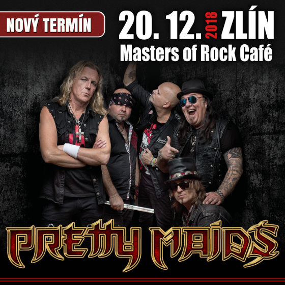 Pretty Maids, Zlín, 20/12/2018 20:00