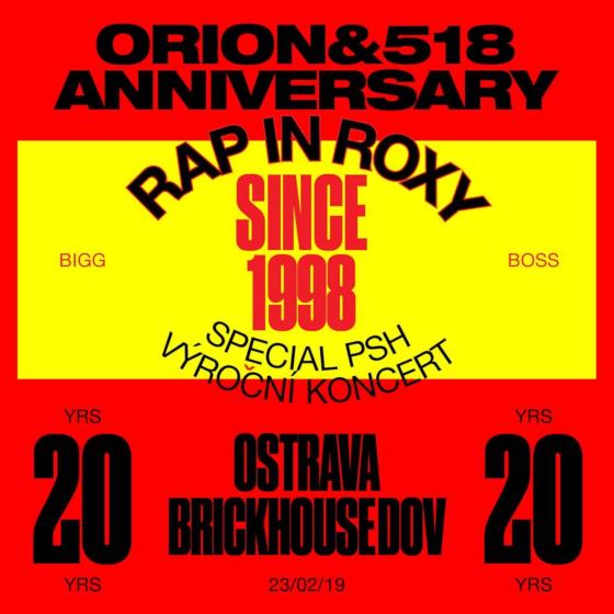 PSH + DJ Wich - 20 let spolu