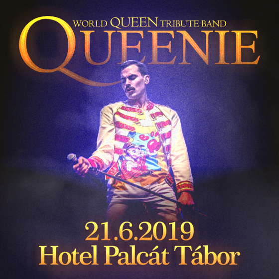 QUEENIE<br>World Queen tribute band