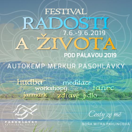 Festival Radosti a Života pod Pálavou 2018<br><font color=red>PERMANENTKA</font>