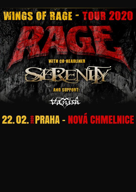 Rage, Serenity & Vanish