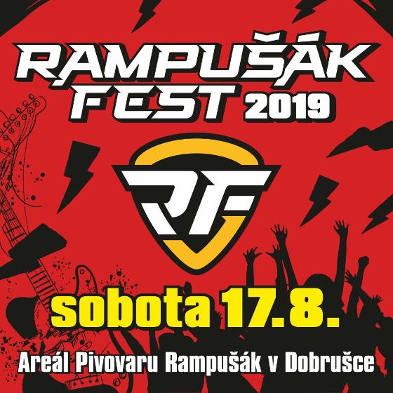 Rampušák Fest 2019<br>Rybičky 48, Horkýže Slíže, Trautenberk<br>a další