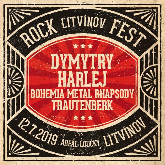Litvínov Rock Fest<br>Dymytry, Harlej, Trautenbek<br>a další….