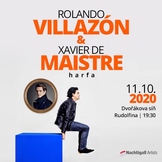 ROLANDO VILLAZÓN/&/XAVIER DE MAISTRE - HARFA-  Praha  -Rudolfinum   Praha