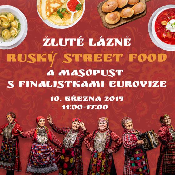 Ruský street food<br>Masopust s finalistkami Eurovize