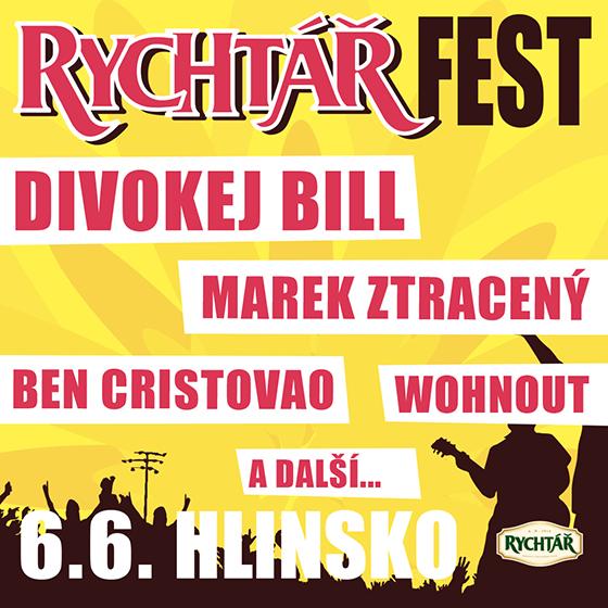 Rychtář Fest<br>Divokej Bill, Marek Ztracený, Wohnout a další