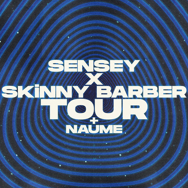 Sensey x Skinny Barber tour