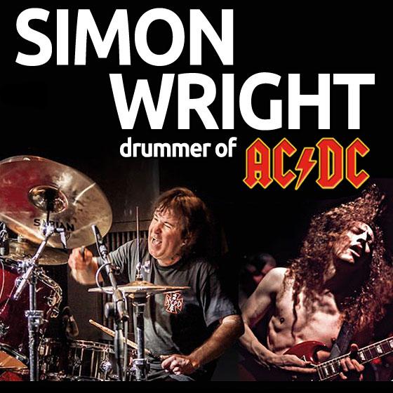 SIMON WRIGHT (ex AC/DC, DIO)/AC/DC LIVE EXPERIENCE TOUR 2020 PART II./- koncert v Plzni -KD Šeříková Plzeň