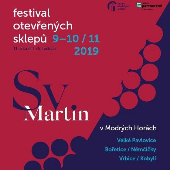 Festival otevřených sklepů<BR>Sv. Martin v Modrých Horách