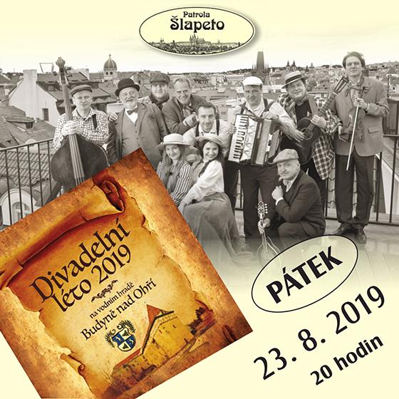 Patrola Šlapeto<br>Divadelní léto 2019