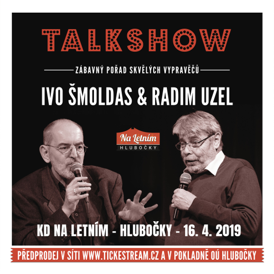 Ivo Šmoldas - MUDr.Radim Uzel<br>humorná talkshow