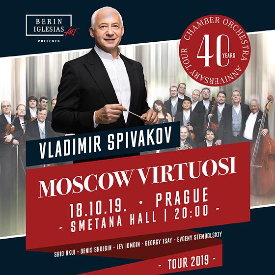Vladimir Spivakov & Moscow Virtuosi<br>40th Anniversary Tour