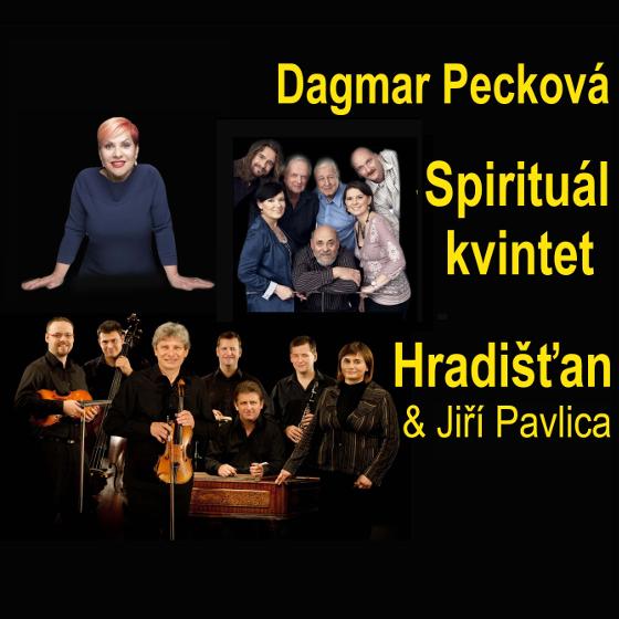 Společný koncert/Dagmar Pecková, Hradišťan a Spirituál kvintet/-  Havířov  -KD Leoše Janáčka Havířov   Havířov