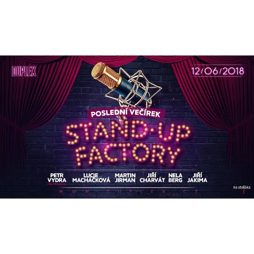 STAND-UP FACTORY v Duplexu Praha -Duplex Praha