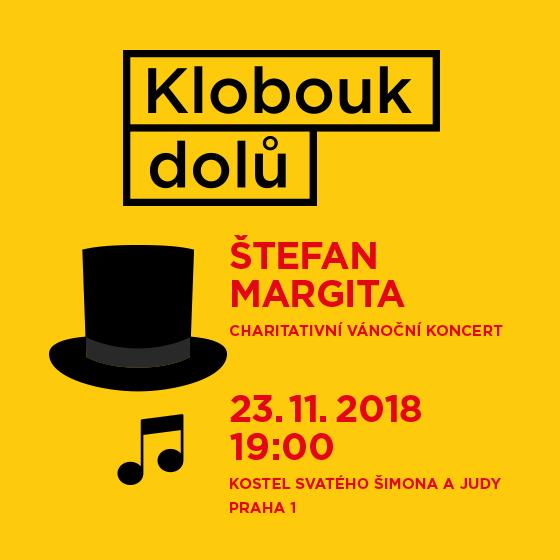 Štefan Margita<br>Charitativní vánoční koncert <br>Klobouk dolů