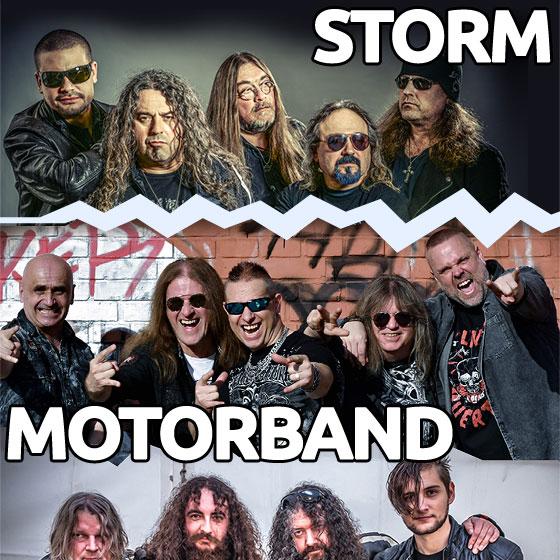 Storm, Motorband, Ingott