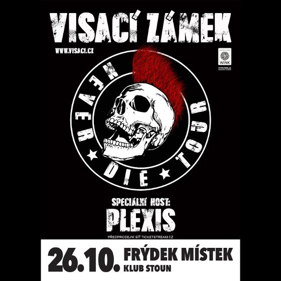 Visací zámek<br>Výroční koncert 36 let<br>Speciální host: Plexis