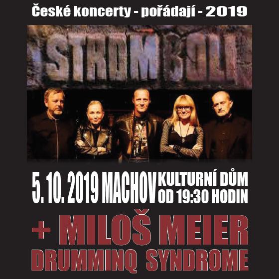 Stromboli + Miloš Meier<BR>Drumminq Syndrome