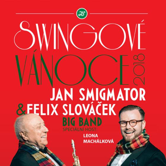 Swingové Vánoce<br>Jan Smigmator<br>Felix Slová&#269;ek Big Band