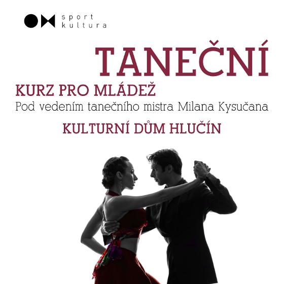 Kolona tanečního kurzu mládeže