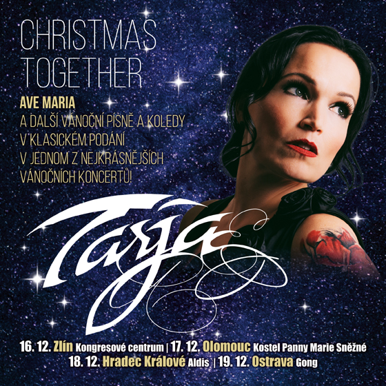 TarjaChristmas together, Ostrava, 19/12/2019 20:00