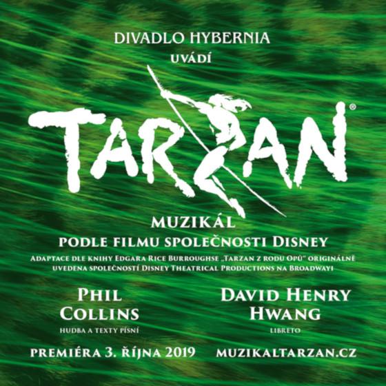 Tarzan<br>světový muzikál<br>s hity Phila Collinse