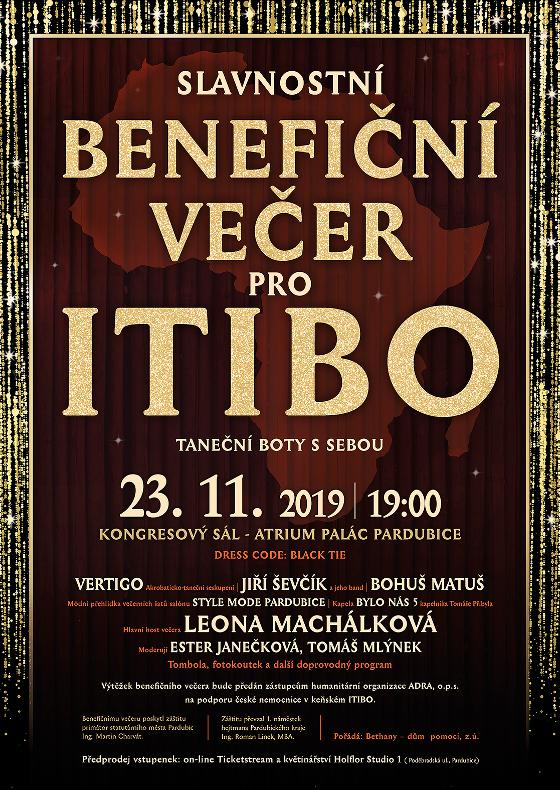 Slavnostní benefiční večer pro Itibo