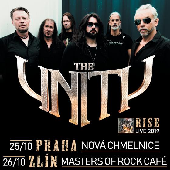 RISE LIVE 2019/THE UNITY/- koncert v Praze -Nová Chmelnice Praha
