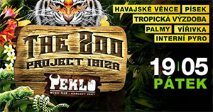 The ZOO project Ibiza, Karlovy Vary, 19/05/2017 22:00