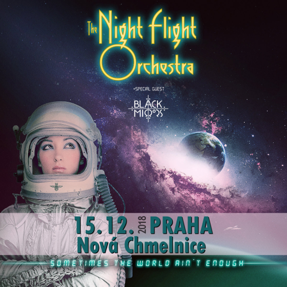 The Night Flight Orchestra, Praha, 15/12/2018 20:00