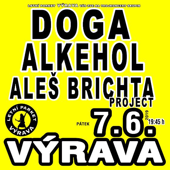 Alkehol, Doga, A. Brichta Project<BR>Letní parket Výrava