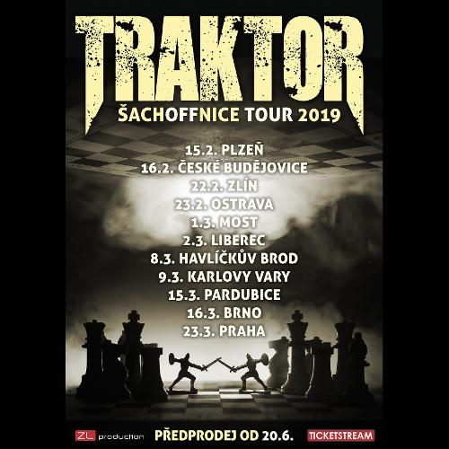 Traktor Šachoffnice Tour - koncert v Pardubicích -Ideon , 53002 Pardubice, Jiráskova 1963
