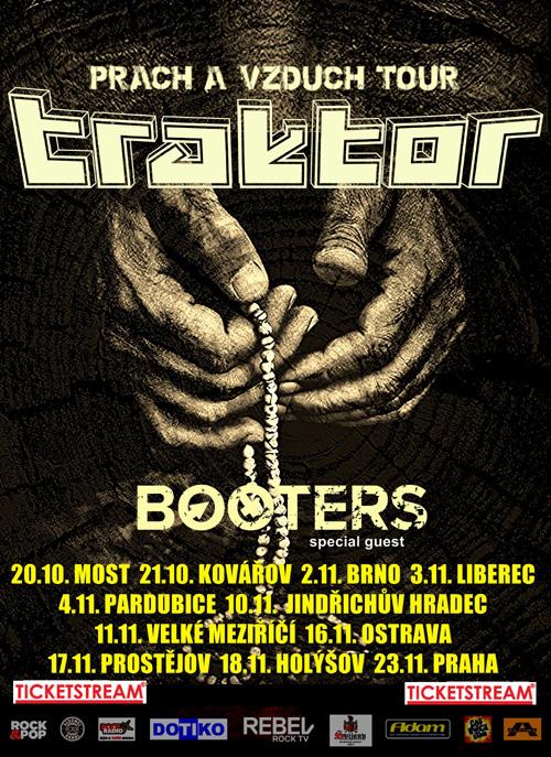 TRAKTOR PRACH A VZDUCH TOUR- koncert Pardubice -ABC Klub   Pardubice