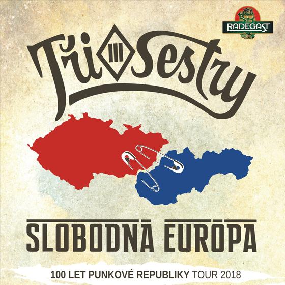 TŘI SESTRY a SLOBODNÁ EURÓPA (SK)- koncert v Liberci -DK Liberec Liberec