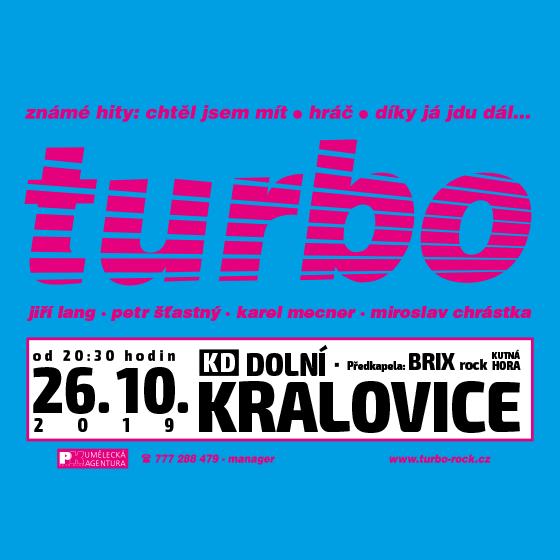 Turbo - předkapela Brix rock