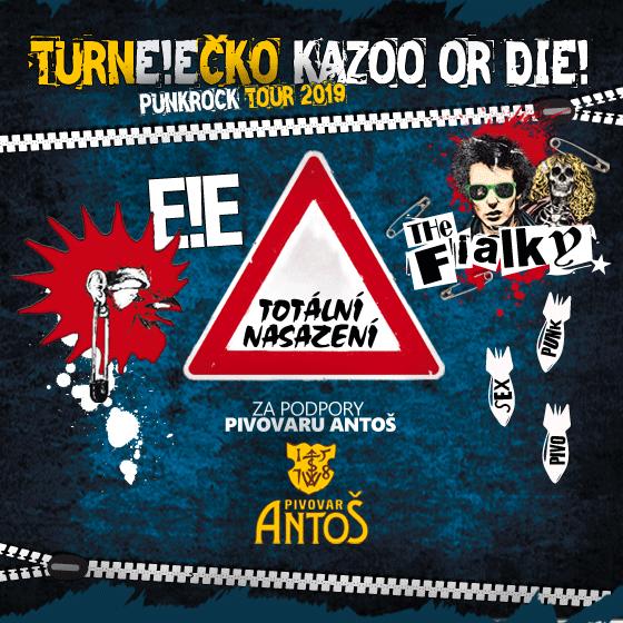 TURNE!EČKO Kazoo or die!<BR>Totální nasazení, E!E, The Fialky