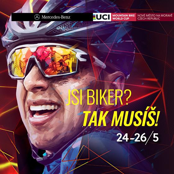 2019 Mercedes-Benz<BR>UCI Mountain Bike World Cup<BR>Světový pohár horských kol