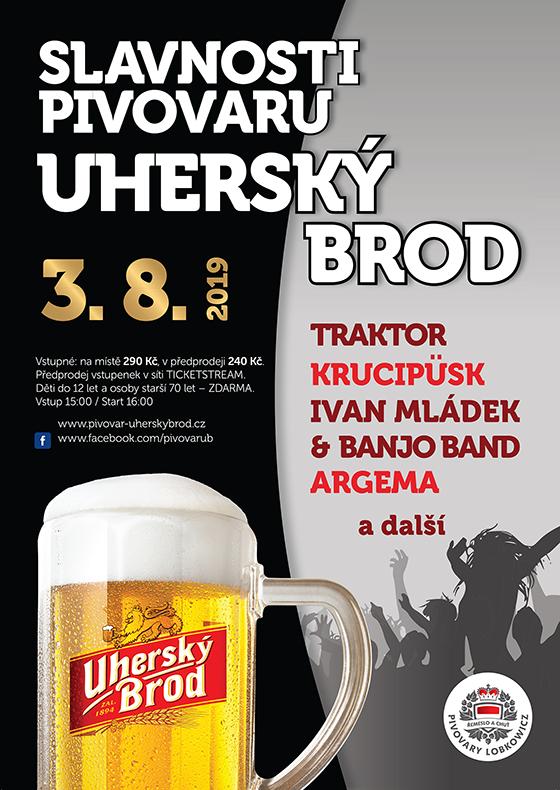 Slavnosti pivovaru Uherský Brod 2019
