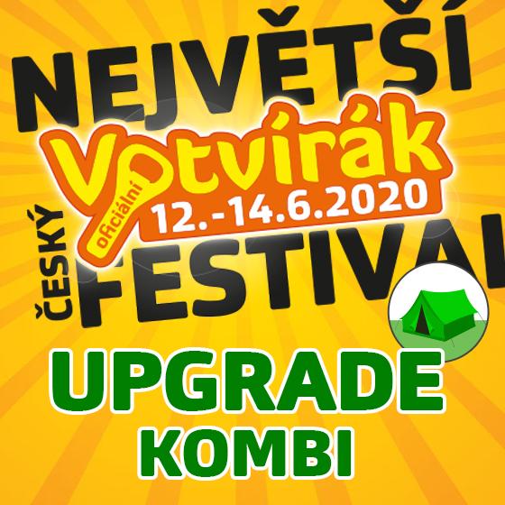 Festival Votvírák 2020<br><b><font color=red>Upgrade Kombi</font></b>