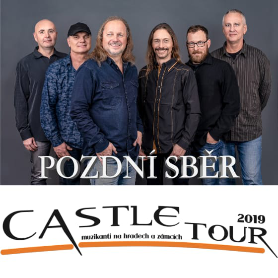 Castle tour 2019<br>Pozdní sběr<br>Spirituál Kvintet a Folk team