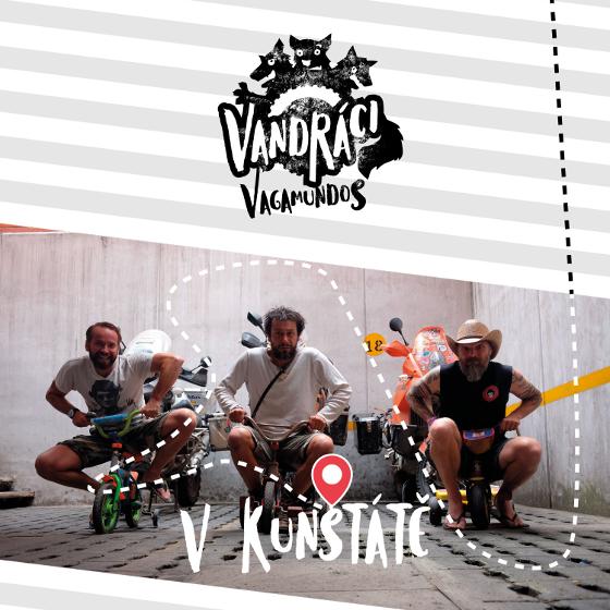 Vandráci - Vagamundos<BR>Cestopis