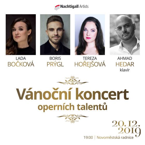 Christmas Concert<BR>Lada Bočková, Tereza Hořejšová, Boris Prýgl