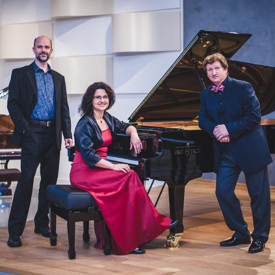 Vánoční čas<BR>PETROF Piano Trio<BR>Koncert PETROF Art Family