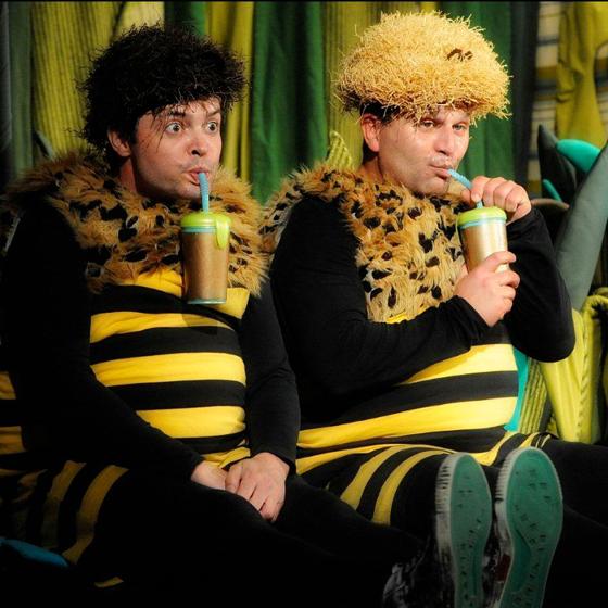Příhody včelích medvídků<BR>Divadlo pohádek