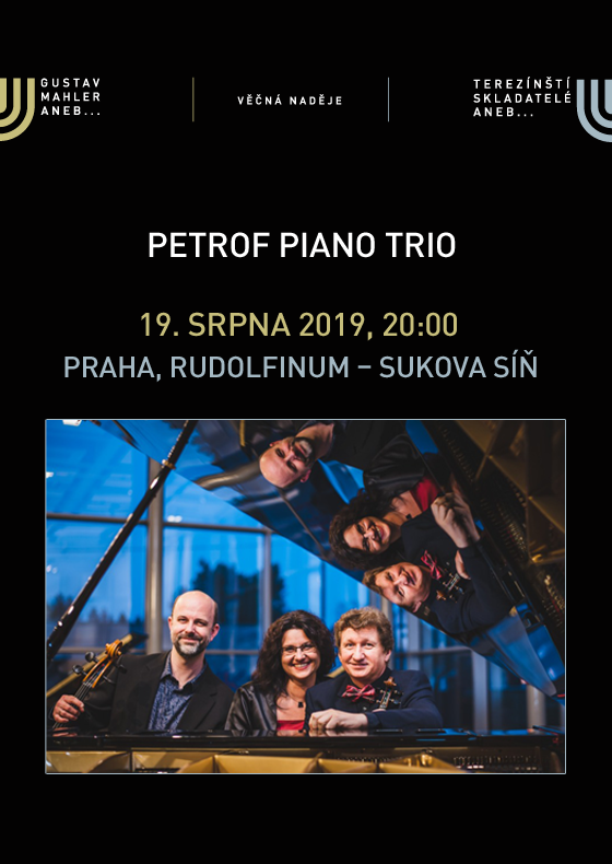 Music festival EVERLASTING HOPE<br>Petrof Piano Trio