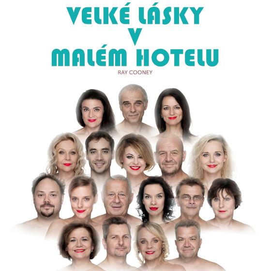 Velké lásky v malém hotelu<br>Autor: Ray Cooney<br>V hlavní roli: Lukáš Vaculík