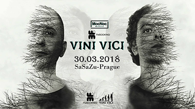 Vini Vici In Prague<br><font color=red>Vstup 18+</font>